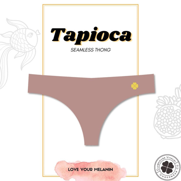 Tapioca - Second Skin Raw Cut Thong