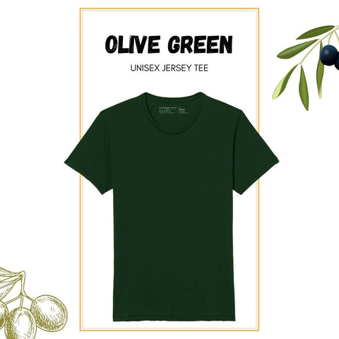 Soft Crew Tee - Olive Green
