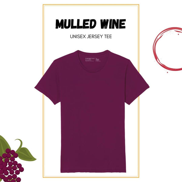 Soft Crew Tee - Mulled Wine