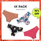 4X Pack - NVPL Seamless Hipsters