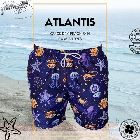 Atlantis Quick Dry Swim Short