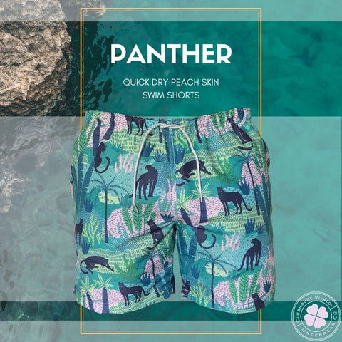 Black Panther Quick Dry Swim Short