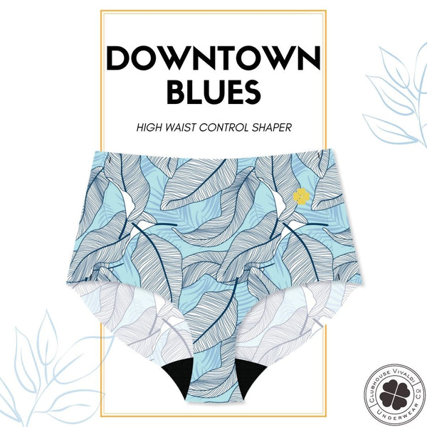 Downtown Blues - High Waist
