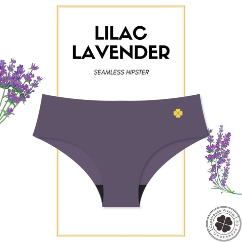 Lilac Lavender - Second Skin Raw Cut Hipster