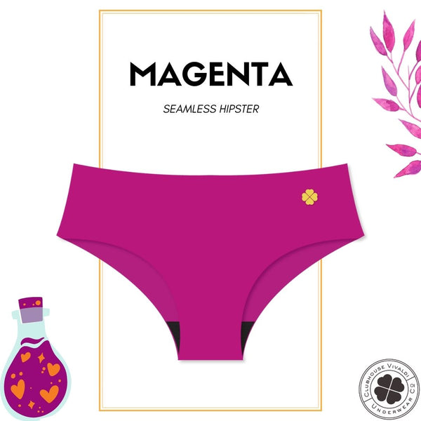 Magenta - Second Skin Raw Cut Hipster