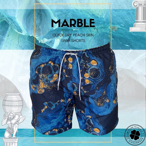 Marble Quick Dry Swim Short