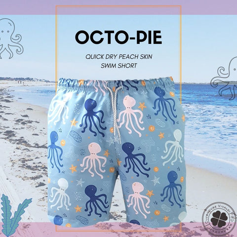 Octo-Pie Quick Dry Swim Short