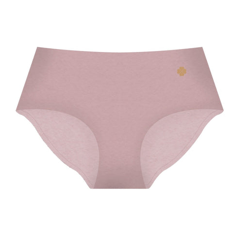 Cotton Seamless Full-Brief - Peach