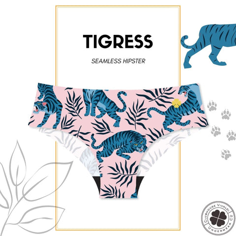 Pink Tigress - Raw Edge Hipster