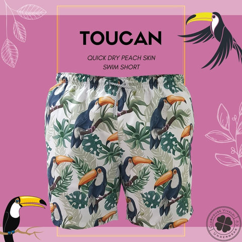 Toucan Quick Dry Swim Short