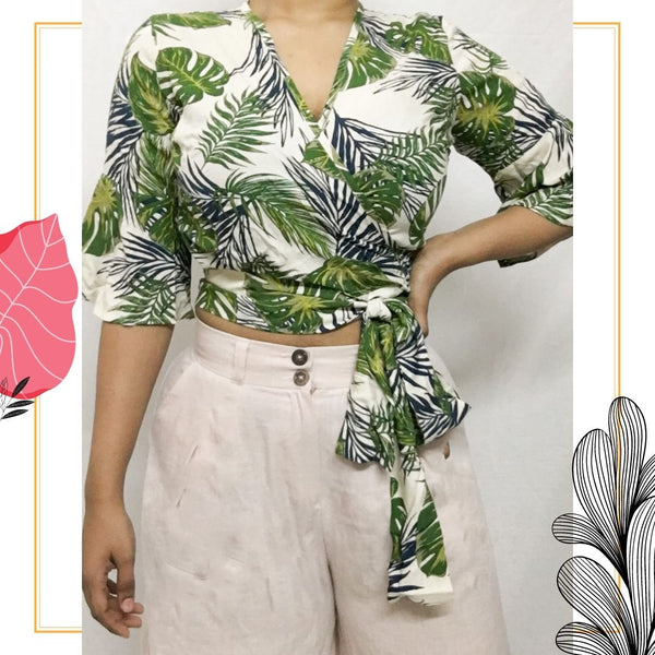 Tropical Crop Top