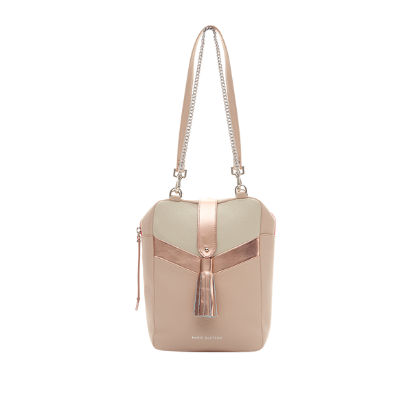 Biarritz - Camera Bag Nude & Or Rose