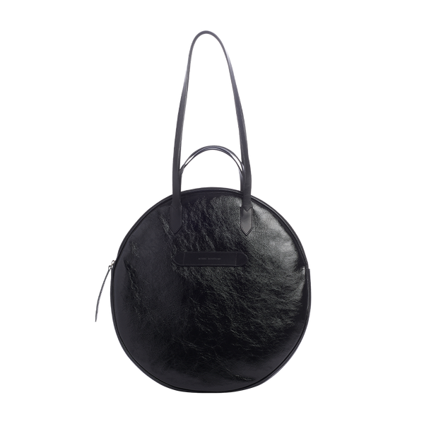 Grand Trianon - Sac Cabas Noir Vernis