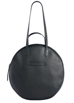 Grand Trianon - Sac Cabas Cuir Noir