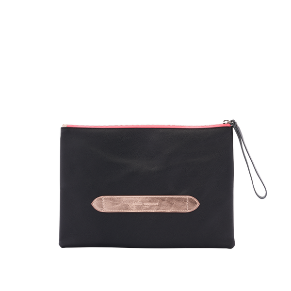 Out Of Office - Pochette Noir & Or Rose