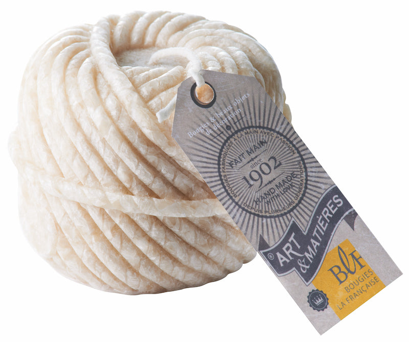 Ball of Wool Candle Ivory