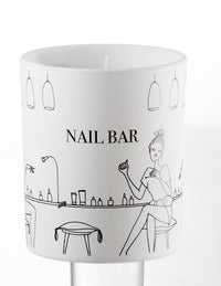 Scented Candle in Designer Gift Box - Hype Nail Bar