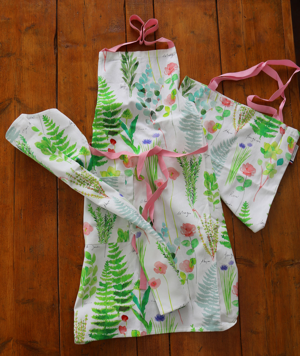 Gift Set Apron, Tea Towel & Tote Bag