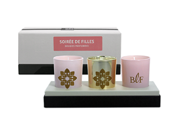 Candles Gift Box Soiree de Filles