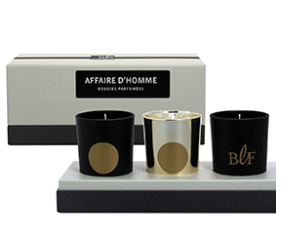 Candles Gift Box Affaire d'Hommes