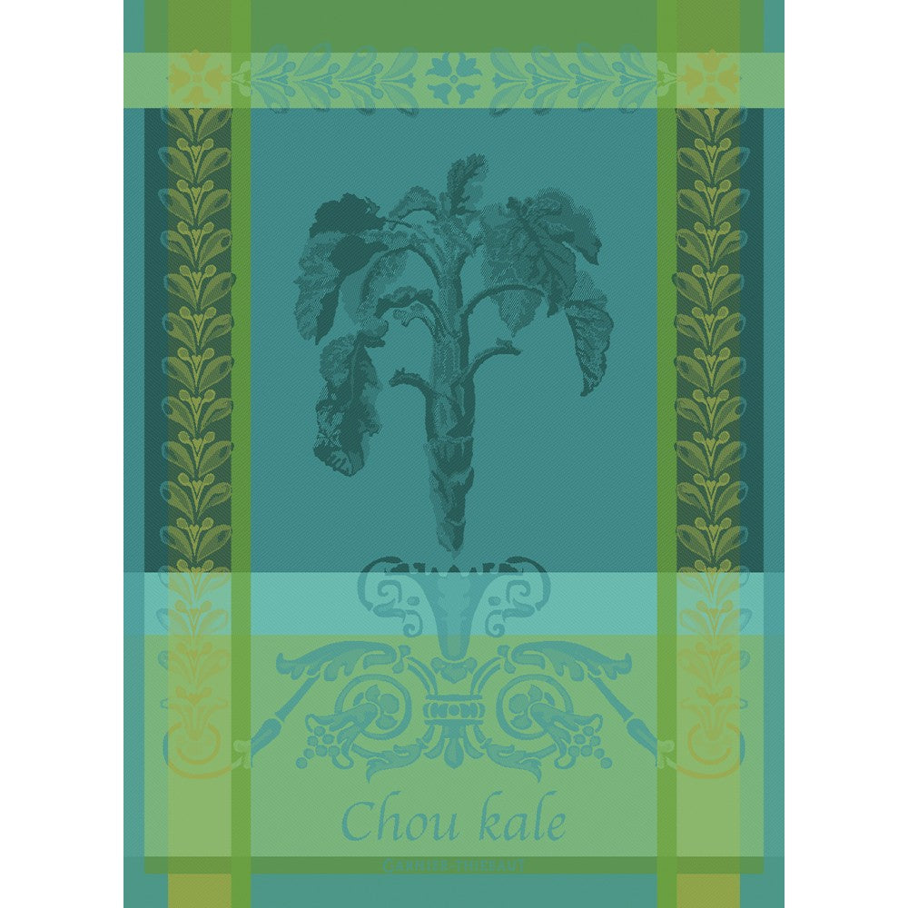 Tea Towel CHOU KALE BLEU