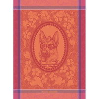Tea Towel MADAME CHIEN ROSE
