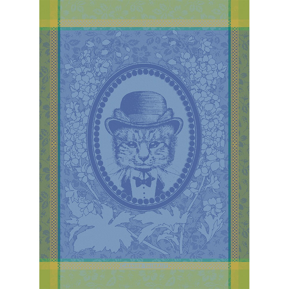 Tea Towel MONSIEUR CHAT BLEU