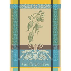 Tea Towel VANILLE BOURBON EDEN