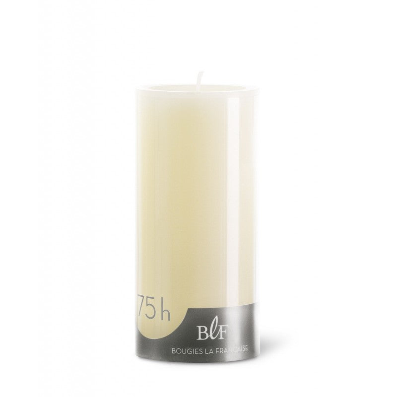 Pillar candle D.7cm H.15cm 75HRS Ivory