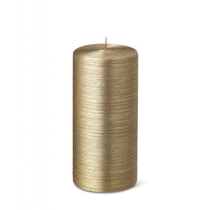 Pillar candle D.70mm H.150mm Gold