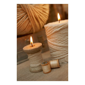 Bobbin of Thread Candle