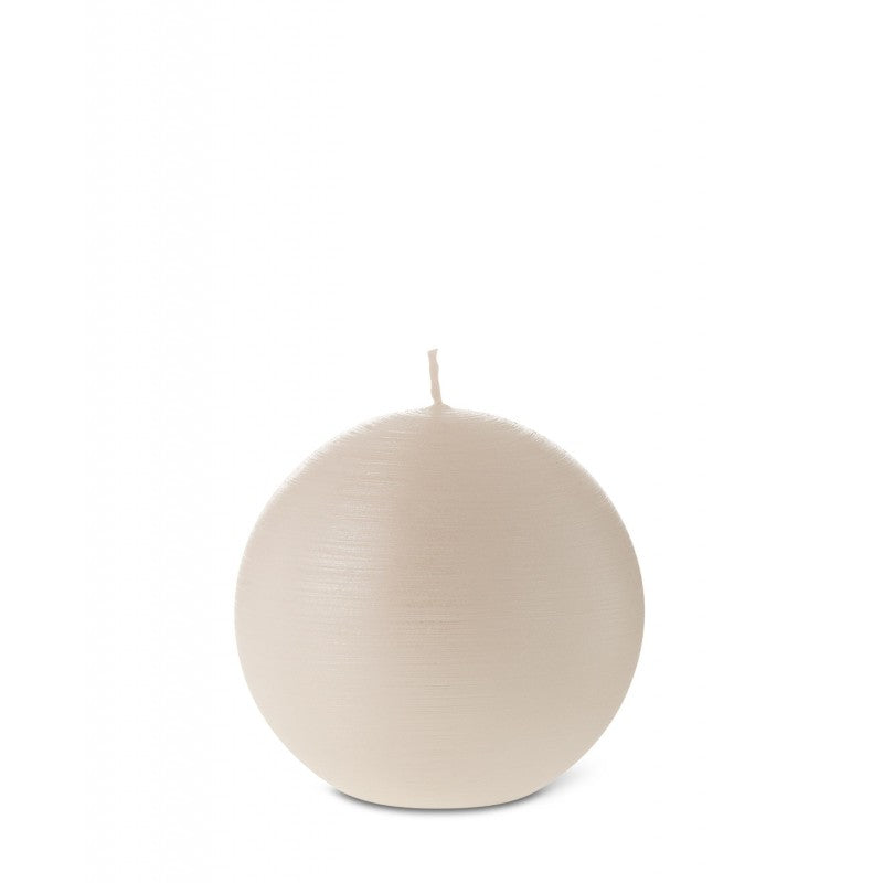 Ball Candle 6cm 7HRS Pearl