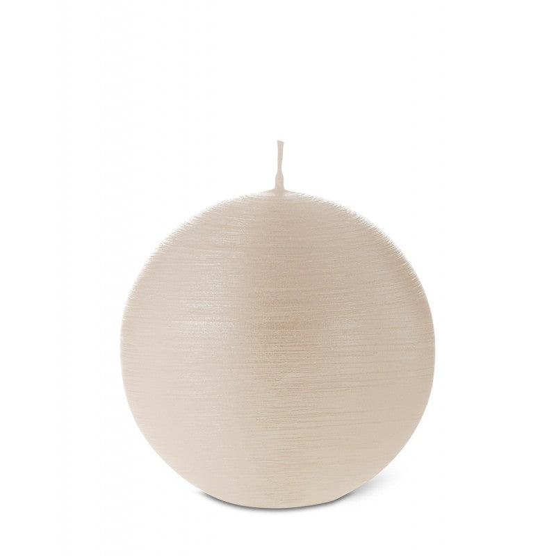 Ball Candle Pearl 100mm