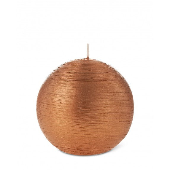 Ball Candle Copper 100mm