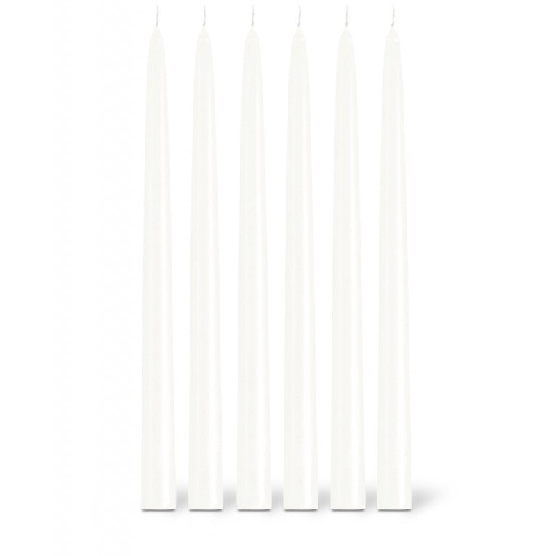 Taper Candle Ø2.2cm H29cm 8 Hrs White