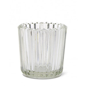 Clear Glass Votive Candleholder