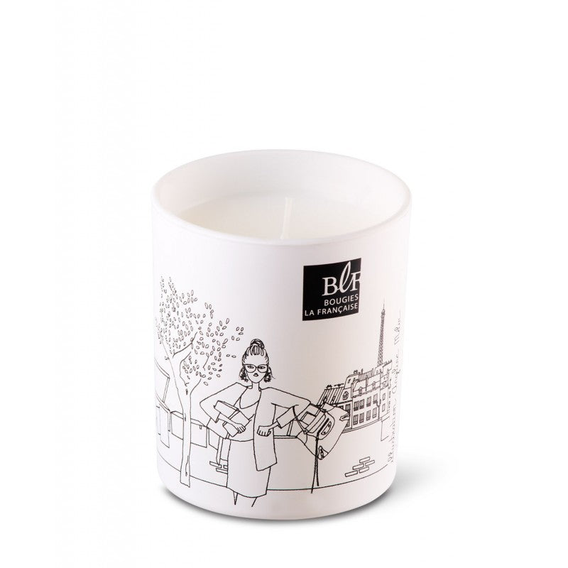 Scented Candle in Designer Gift Box - Book Addict