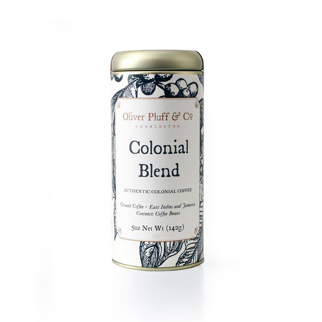 Colonial Blend Ground Coffee - Signature Coffee Tin