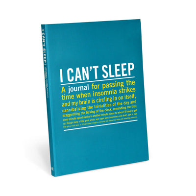 Knock Knock - I Can't Sleep Journal