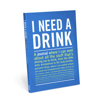 Knock Knock - I Need A Drink Journal