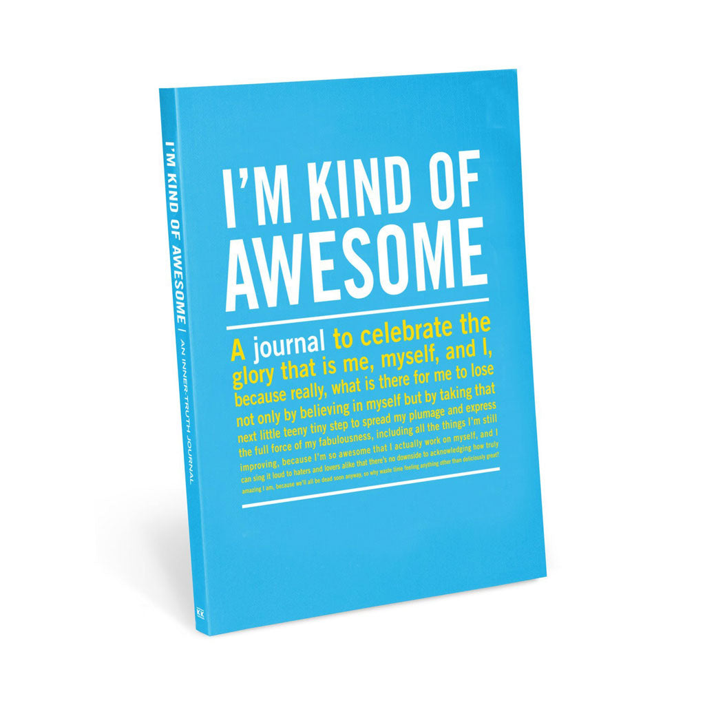 Knock Knock - I'm Kind Of Awesome Journal