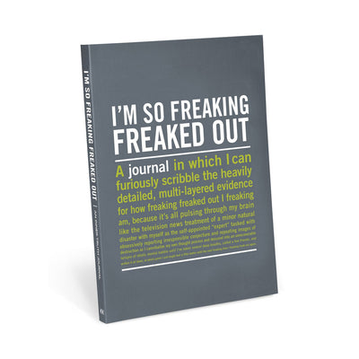 Knock Knock - I'm So Freaked Out Journal