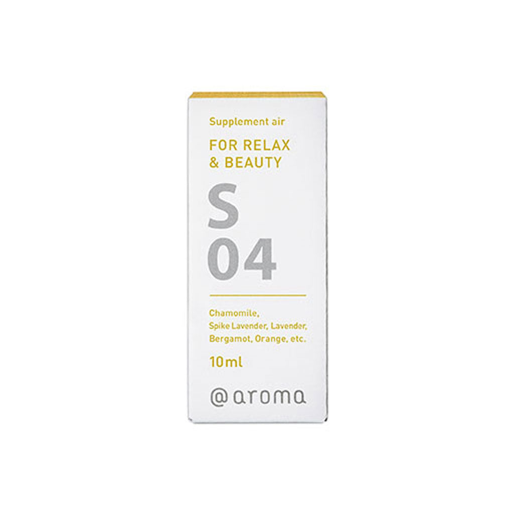 S04 FOR RELAX & BEAUTY Supplement Air/Essential Oil