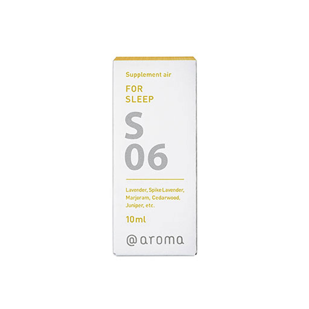 S06 FOR SLEEP Supplement Air/Essential Oil