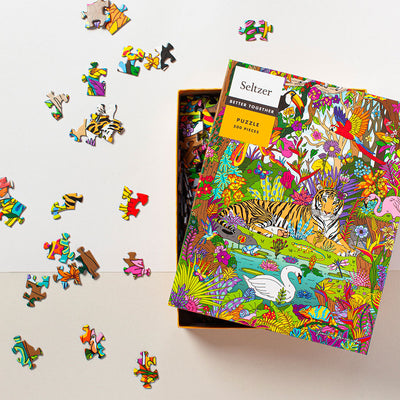 Jungle Tiger Puzzle