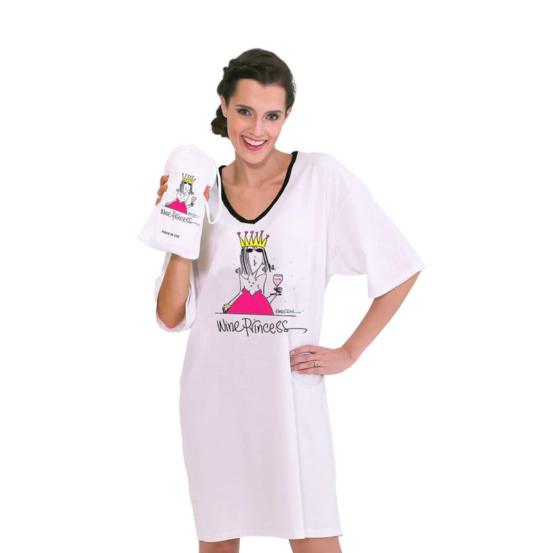 Nightshirts Wine Princess