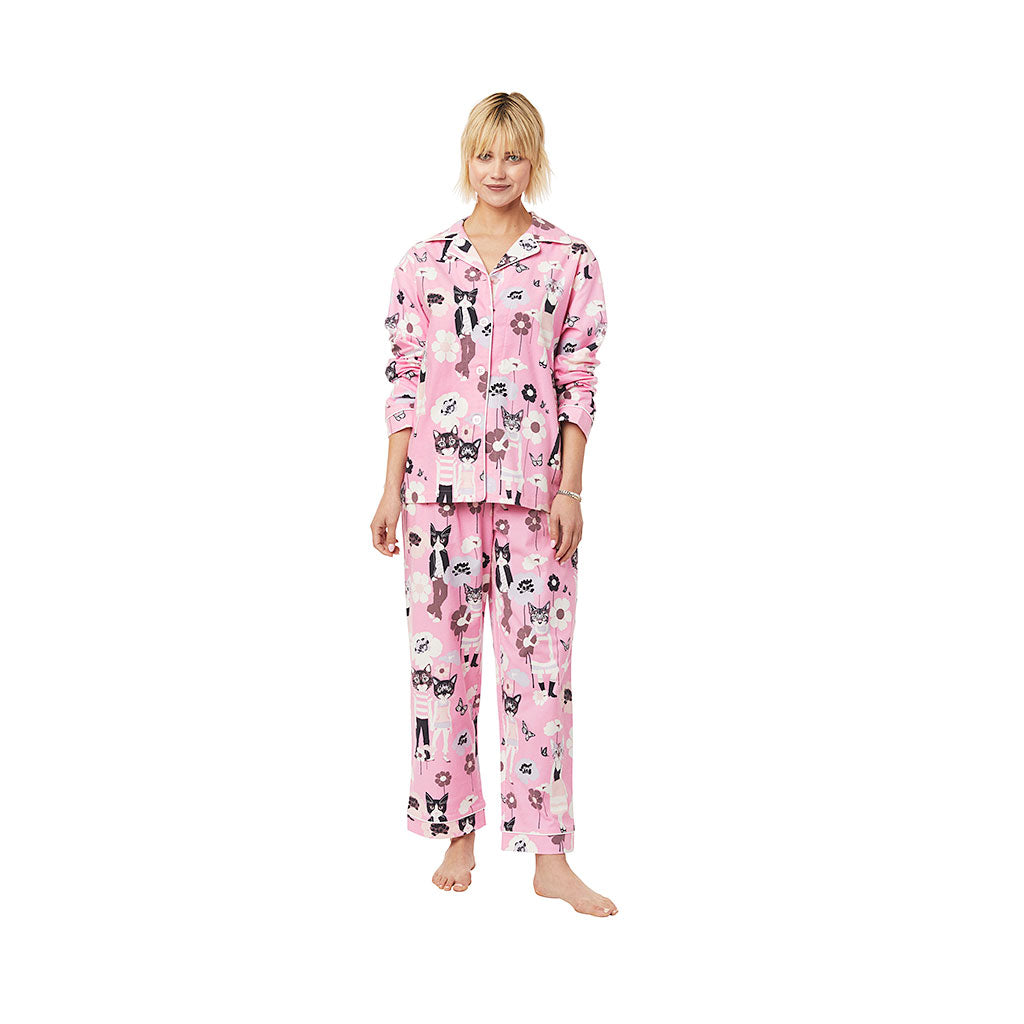 Cat's Pajamas Hepcat Flannel Pajamas