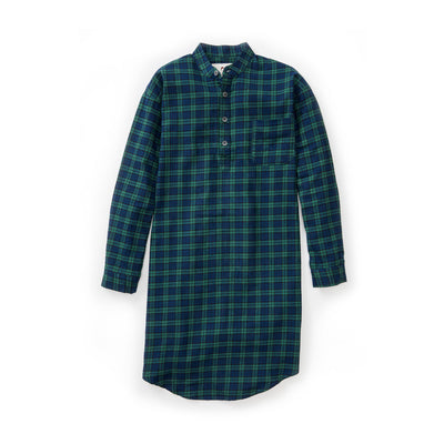 Lee Valley - Green Tarten Nightshirt