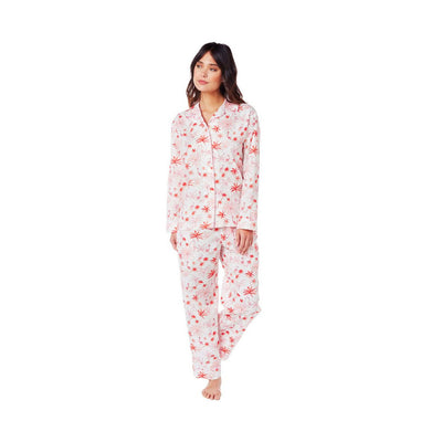 Cat's Pajamas - Pink Flamingo Luxe Pima Pajamas