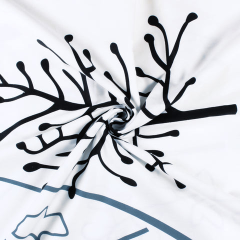 Tevel Cotton King Size Bedsheet - 300 TC